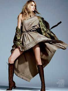 Elle Brazil April 2014 | Lindsay Ellingson by Nicole Heiniger [Editorial]