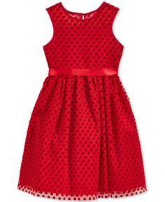Marmellata Polka-Dot Dress, Little Girls (2-6X) & Toddler Girls (2T-5T)