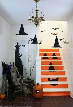 homemade halloween decorations, halloween decorations, seasonal holiday decor
