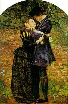 The Pre-Raphaelite painter John Everett Millais managed to create a sentimental moment in the massacre in his painting 'A Huguenot on St. Bartholomew's Day' (1852), which depicts a Catholic woman attempting to convince her Huguenot lover to wear the white scarf badge of the Catholics and protect himself. The man, true to his beliefs, gently refuses her. Millais was inspired to create the painting after seeing Meyerbeer's Les Huguenots.