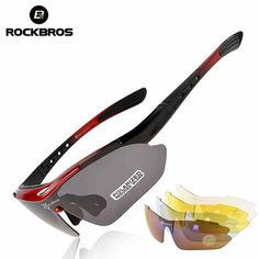 5aec0d6be2 ROCKBROS Polarized Sports Men Sunglasses Road Cycling Glasses Mountain Bike  Bicycle Riding Protection Goggles Eyewear 5