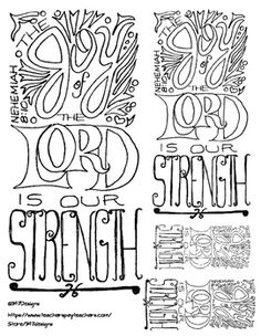 The Joy Of Lord Is Our Strength