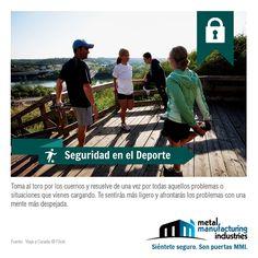 El consejo de #Seguridad en el Deporte de hoy es ideal para este día en que muchos acudimos a parques y unidades deportivas a ejercitarnos.