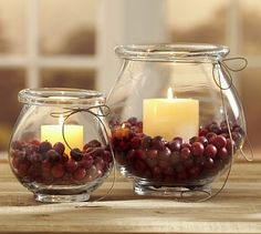Shop Pottery Barn for expertly crafted decorative vases and vase fillers. Find glass, ceramic and metal vases in classic styles and colors to accent your home. Diy Christmas Decorations Easy, Christmas Centerpieces, Thanksgiving Decorations, Christmas Diy, Diy Thanksgiving, Table Centerpieces, Centerpiece Ideas, Christmas Candle, Centrepieces