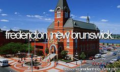 awesome canadian things // Fredericton, New Brunswick Canadian Things, Canadian Girls, Fredericton New Brunswick, New Brunswick Canada, Beautiful Vacation Spots, Atlantic Canada, Saint John, Prince Edward Island, The Province