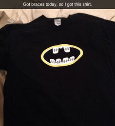 Bat-braces  - funny pictures #funnypictures