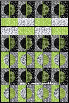 Nancy Zieman | September 2015 Block of the Month | Celestial Circle | Quilt Concept