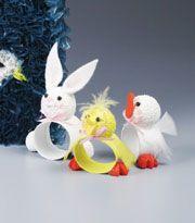 Easter Critters Napkin Rings
