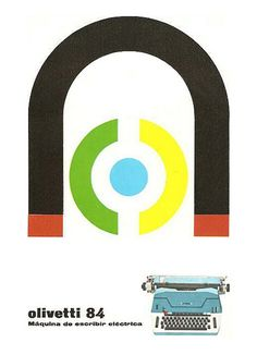 designed by Giovanni Pintori - 1964