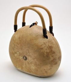 Now you can get right to the fun part of designing and creating your very own gourd purse!