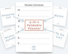 Habit Tracker Weekly Planner Agenda Planner Page To Do List