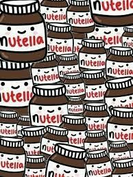 Cute nutella backround!