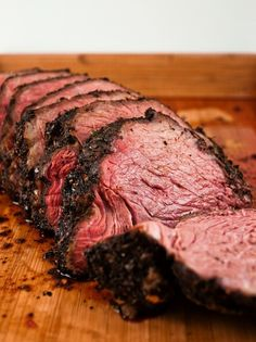 Roast beef: seared and baked