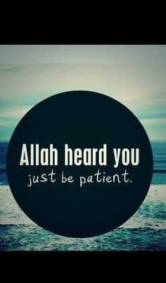 sabr is always the answer