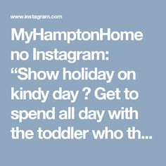 "MyHamptonHome no Instagram: ""Show holiday on kindy day 😳 Get to spend all day with the toddler who thinks food is the worst. 😒 #toddlers #kids #girlsroom #kidsroom…"""