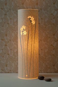 Paperwhite Table Lamp. $120.00, via Etsy.