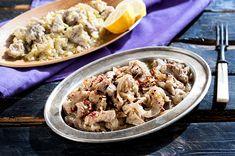 Πρασοτηγανιά (28.12.15) Food Categories, Pasta Salad, Yummy Food, Cooking, Ethnic Recipes, Desserts, Crab Pasta Salad, Kitchen, Tailgate Desserts
