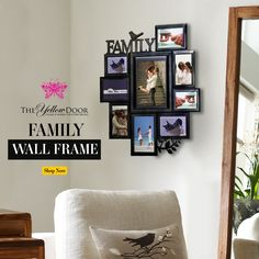 This week spend some time cherishing those lovely moments spent with your family and treasure them by framing them up in this Wall Frame #wallframe #frame #photoframe #homedecor