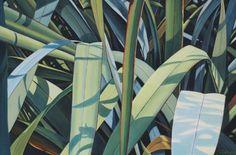 Luminous Reflections - Jo Gallagher $1250 Nz Art, Landscape Paintings, Reflection, Plant Leaves, Artwork, Plants, Work Of Art, Auguste Rodin Artwork, Landscape
