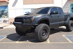 Any Flat Black, Satin Black, murdered 2nd gens out there - Page 3 - Tacoma World Forums