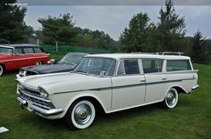 1960 Rambler American station wagon - Ours was black and we had lots of road trips.