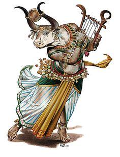 MITOLOGIA EGIPCIA Hator era a consorte dos faraós e acreditava-se que era ela que escolhia quem ocupava esse cargo divino, pois apenas um seu escolhido e amante seria elevado á condição de faraó. Por isso, embora todo o farao possuísse esposas humanas, ele teria igualmente de ser amante desta deusa. Os sacerdotes de Hator, ao contrário do que sucedia com outros os deuses, mantiveram os conhecimentos sobre esta deusa em grande segredo, transmitindo apenas iniciáticamente de mestres para…
