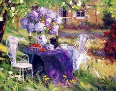 Painting by Tim Benjamin