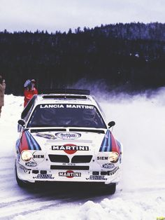 Lancia Delta S4 of Henri Toivonen (FI) and Sergio Cresto (US). R.I.P.