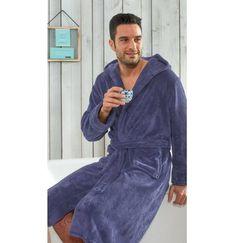 L/&L Company Peignoir Chaud et Doux Eponge Robe de Chambre pour Les Femmes