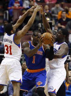 New York Knicks vs. Philadelphia 76ers NBA pictures - Newsday