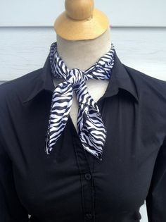 Zebra Scarf – The Bling Boutique