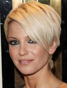 Pictures Of Brunette Pixie Haircuts