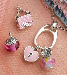Pink Charms Create a Soft Look for Your Charm Bracelet Avery Jewelry, Cute Charms, Pink Bling, James Avery, Pantone Color, Charm Bracelets, Rose Quartz, Valentine Gifts, Color Inspiration