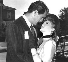 Rock Hudson  and Julie London -  1951 in The Fat Man