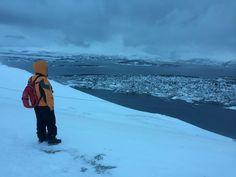 Amazing landscape Tromsø Fjellheisen