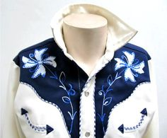 Men's 1970's Vintage Polyester H Bar C Western by Atomicfireball, $85.00