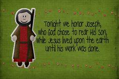 12 days of christmas nativity idea