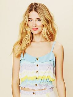 Tie Dye Crop Top  http://www.freepeople.com/whats-new/tie-dye-crop-top/