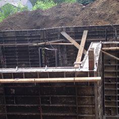 June 12, 2014 Basement walls poured