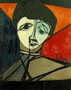 Olga Carol Rama, undated. (Italian, b. 1918). twofacedmirror.tumblr.com