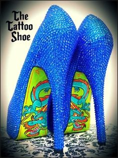 Personalized Tattoo Shoe - Create Your Own