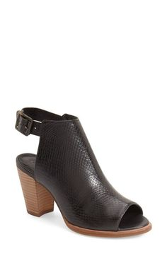 UGG® 'Audrey' Peep Toe Bootie (Women) available at #Nordstrom
