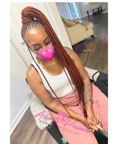 "@braidbrat on Instagram: ""High PONY 🥶🔥 🤩 #feedinponytail #butterflylocs  #knotlessbraids #largeknotlessboxbraids #jumboknotlessboxbraids #boxbraids #tribalbraids…"" Feed In Ponytail, Braided Ponytail, African Braids Hairstyles, Braided Hairstyles, Braid Styles, Box Braids, Fashion Pictures, Dreadlocks, Butterfly"