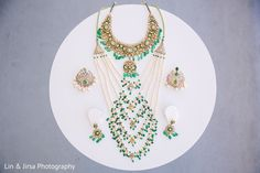 Bride jewelry set photography http://www.maharaniweddings.com/gallery/photo/99674
