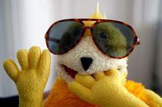 Flat Eric Vintage Toys, Puppets, Round Sunglasses, Concept Art, Geek Stuff, Creatures, Fan Art, Flats, My Love