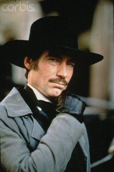 Timothy Dalton as Rhett Butler in Scarlett the miniseries 1994