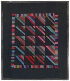 Amish Roman Stripes quilt