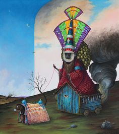 "Preview: El Gato Chimney's ""De Rerum Natura"" at Stephen Romano Gallery | Hi-Fructose Magazine"