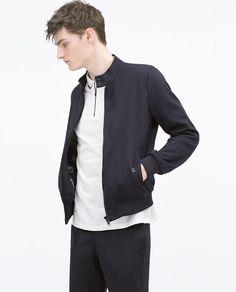 ZARA - MAN - Knit jacket floral lining