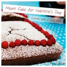 Vídeo da Receita de Bolo Double Chocolate de Coração para Valentine's Day-Especial Cozinha para 2 e ICKFD